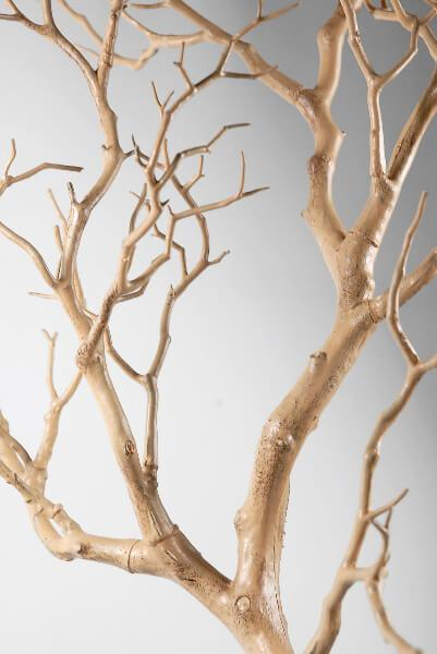 "Artificial 38"" Manzanita Tree Branch Tan"