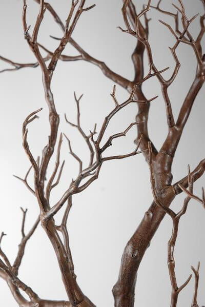 artificial manzanita tree branch brown 38 5in