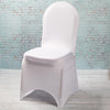 Richland White Spandex Banquet Chair Cover
