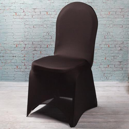 Richland Black Spandex Banquet Chair Cover