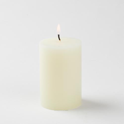 ivory pillar candle 2x3 6021 40