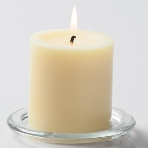 richland pillar candles 3 x3 ivory set of 48