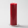 "Richland Pillar Candles 3""x9"" Red Set of 24"
