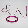 Eastland Aluminum Flat Decorative Wire Fuchsia 24 Feet