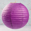 "Richland Round Chinese Paper Lanterns 12"" Purple"