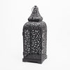 richland black moroccan temple metal lantern