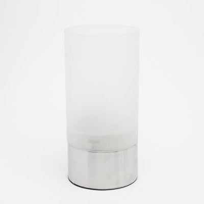 Richland Stainless Steel Frosted Decorative Cylinder - Large