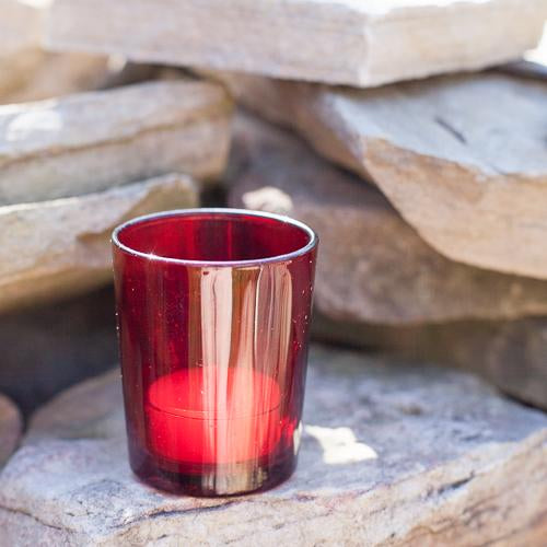 eastland votive holder red set of 72