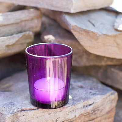 Eastland Votive Holder Purple Set of 12