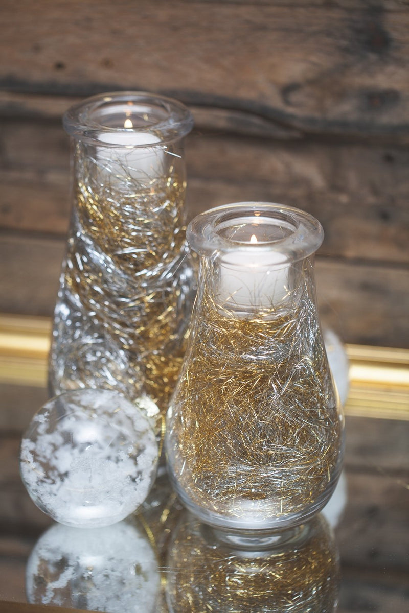 richland teardrop vase tealight holder set of 2