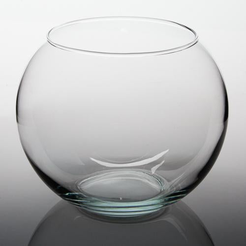 "Eastland Bubble Ball Vase 10"" Set of 2"