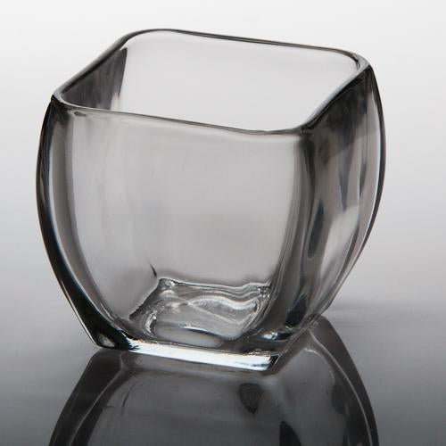 eastland tapered square candle holder 3 5