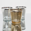 richland gold lattice glass holder medium set of 48