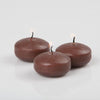 "Richland Floating Candles 2"" Brown Set of 24"