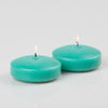 "Richland Floating Candles 3"" Aqua Green Set of 72"