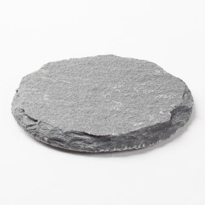 richland round natural slate coaster 4 set of 12