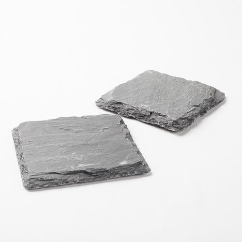 richland square natural slate coaster 4 set of 4
