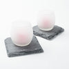 "Richland Square Natural Slate Coaster 4"" Set of 4"