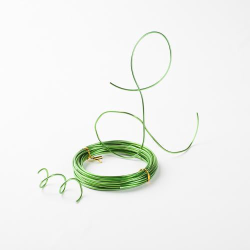 Eastland Aluminum Decorative Wire Lime Green 24 Feet