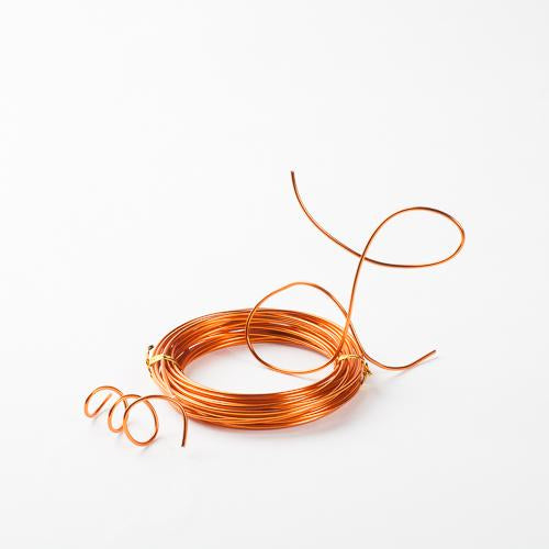 Eastland Aluminum Decorative Wire Orange 24 Feet