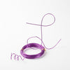 Eastland Aluminum Decorative Wire Purple 24 Feet
