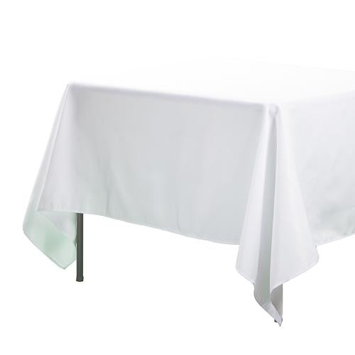 "Richland Square Tablecloth 70""x70"" White"