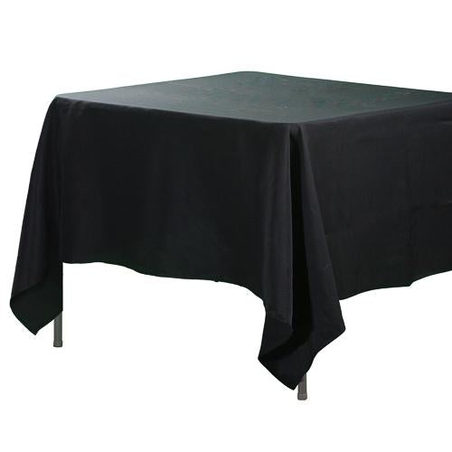 "Richland Square Tablecloth 70""x70"" Black"