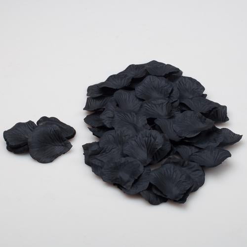 Richland Silk Rose Petals Black 10,000 Count
