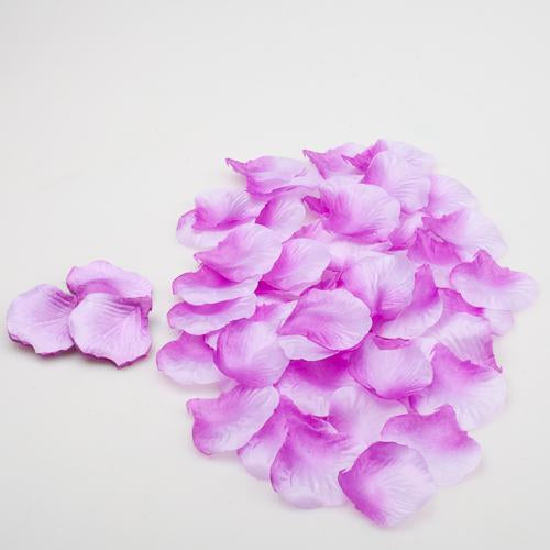 Richland Silk Rose Petals Lavender 1000 Count