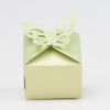 Richland Pearl Green Butterfly Top Favor Box Set of 25