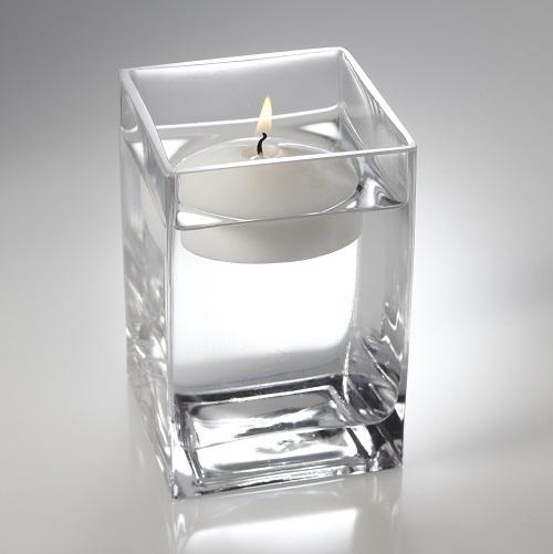Eastland Square Floating Candle Holder 6""