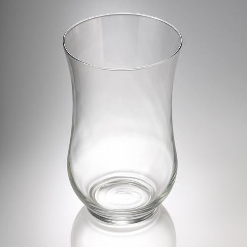 "Eastland Adena Hurricane Vase 10.5"" Set of 2"