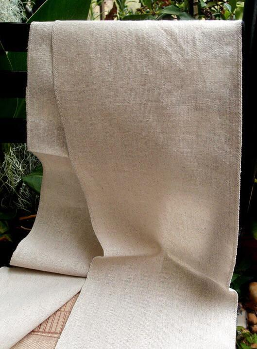 linen table runner or chair sash 8 x 108