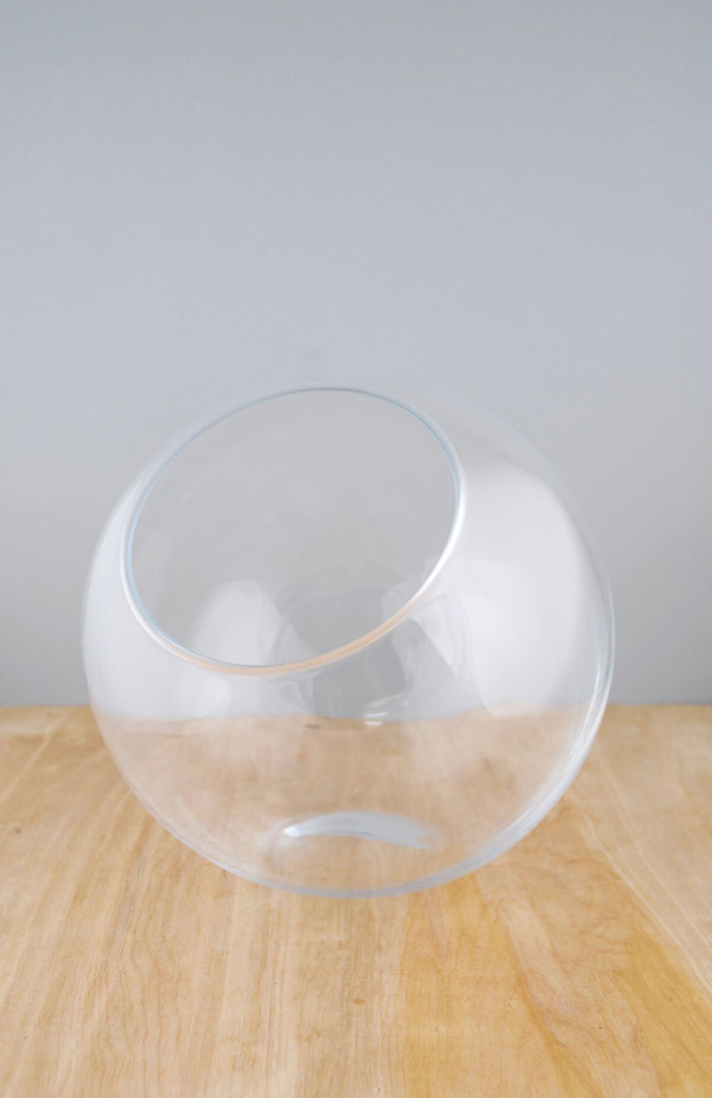 studio glass 10 5 x 10 glass orb bowl
