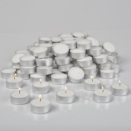 Richland Tealight Candles White Unscented Set of 125