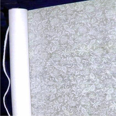 French Lace Wedding Aisle Runner 75' Soft White
