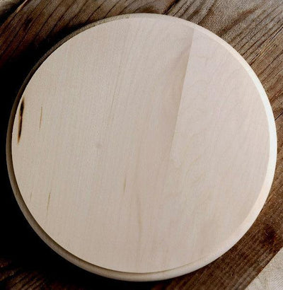walnut hollow plaque basswood circle 8x8