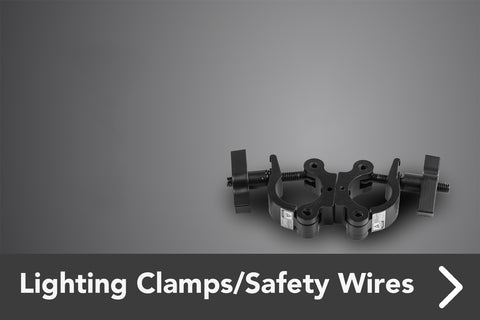 Lighting Clamps/Safety Wires
