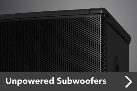 Unpowered Subwoofers
