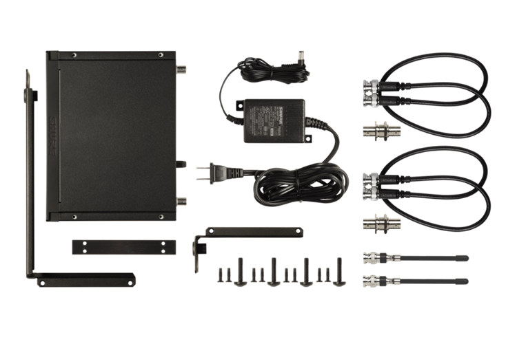 BLX14R/W85 Shure Wireless Rack-mount Presenter System with WL185 Lavalier Microphone
