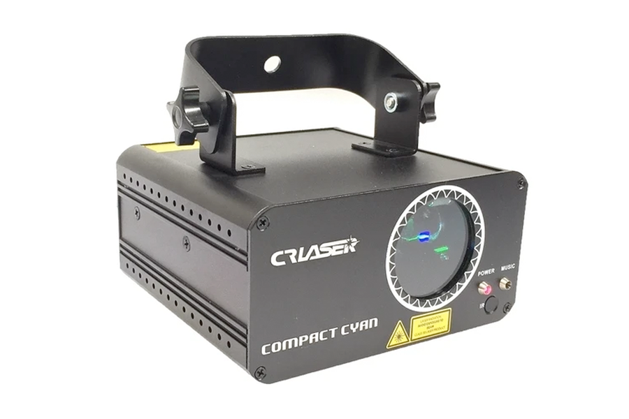 CR Laser Compact Cyan Laser with DMX and Remote