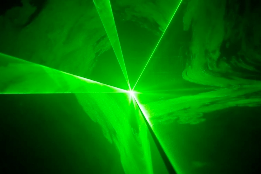 CR Laser Compact Green Laser with DMX and Remote