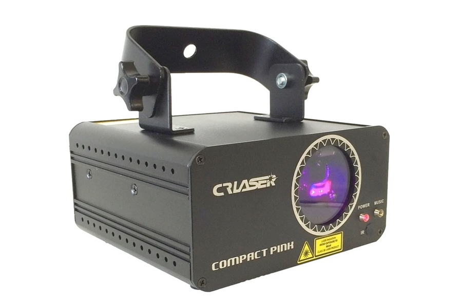 CR Laser Compact Pink Laser with DMX and Remote