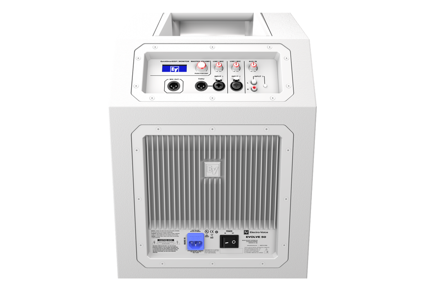 ElectroVoice EVOLVE 50 Subwoofer (White)