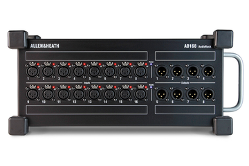AB168 Allen & Heath 16 In / 8 Out 48kHz Portable Audio Rack