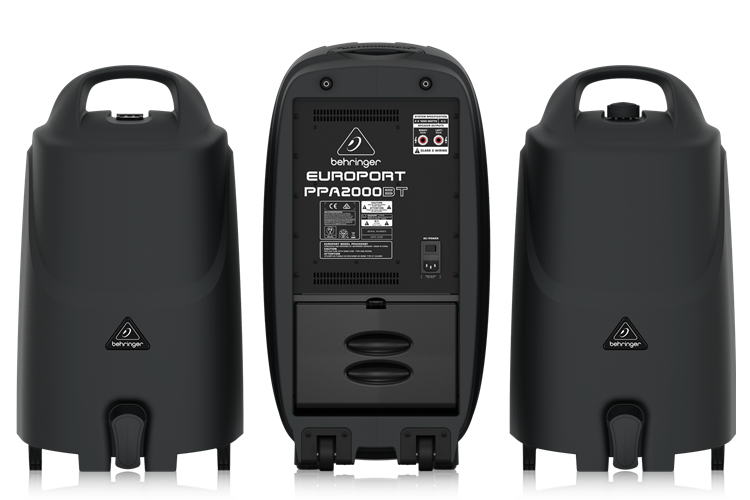 PPA2000BT Behringer 2000W Portable PA System with Bluetooth Wireless Technology