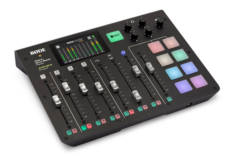 Rode RODECaster Pro Podcast Production Studio Mixer