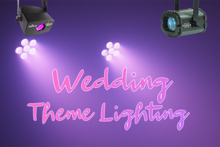 Wedding Theme Lighting Package