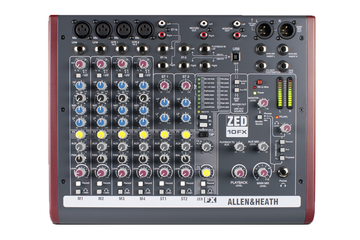 ZED-10FX Allen & Heath Multipurpose USB Mixer