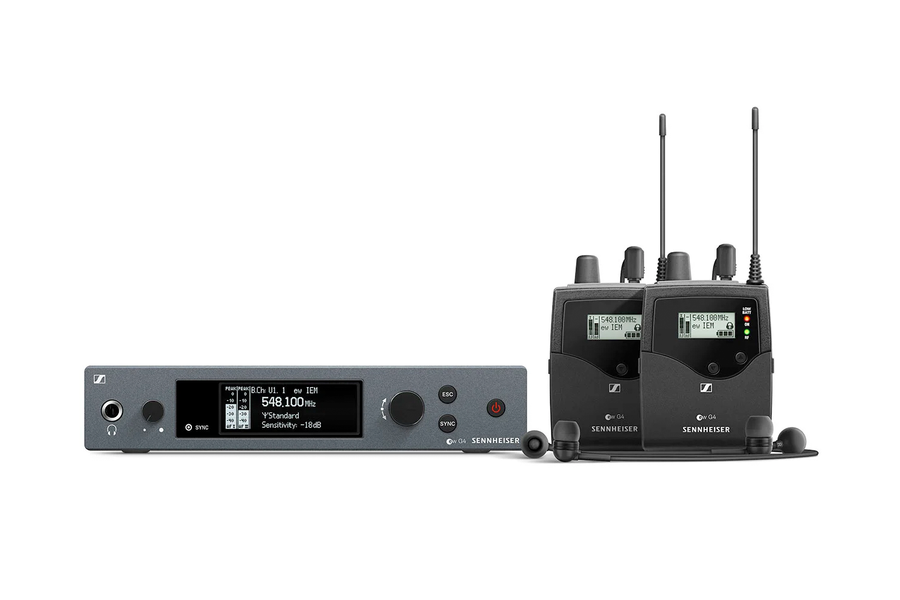 Sennheiser ew IEM G4 TWIN Wireless In-ear Monitoring System
